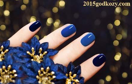 Ногти гель дизайн новый год